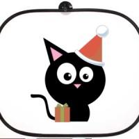 Bočni auto suncobran Crna maca