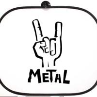 Bočni auto suncobran Metal