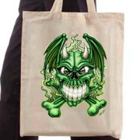 Ceger Angry green skull