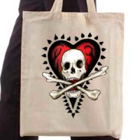 Ceger Heart and skull