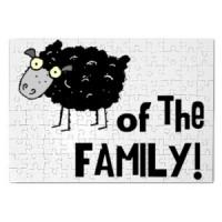 Magnetna puzla Crna ovca porodice