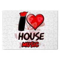 Magnetna puzla I Love House Music | House | Music