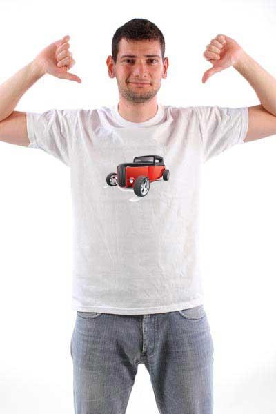 Majica Auto hotrod3
