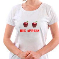 Big apples.