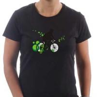 Majica Bike green