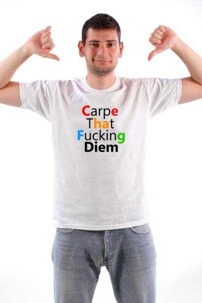 Majica Carpe Diem