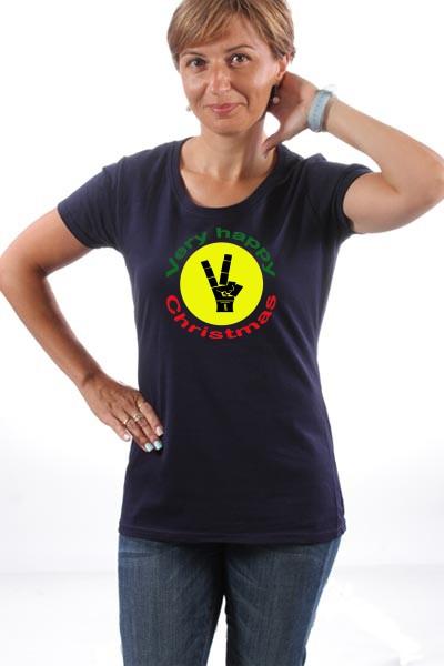 Majica Christmas-happy-reggae