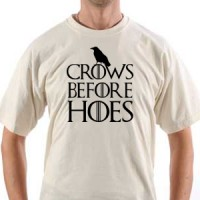 Majica Crows Before Hoes