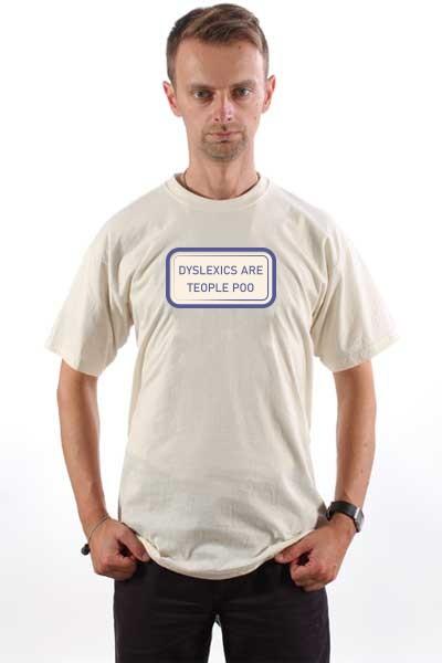 Majica Disleksija