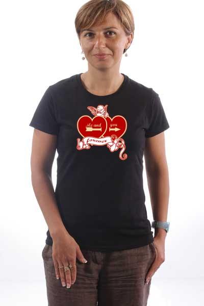 Majica Dva srca