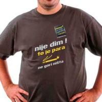 Majica E-cig serbia forum nije dim logo