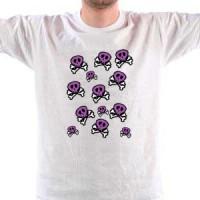 Majica Emo skulls