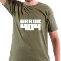 Majica Error 404