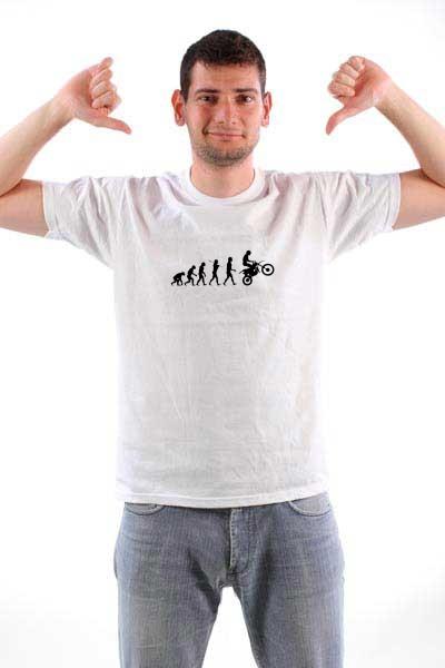 Majica Evolucija bajkera