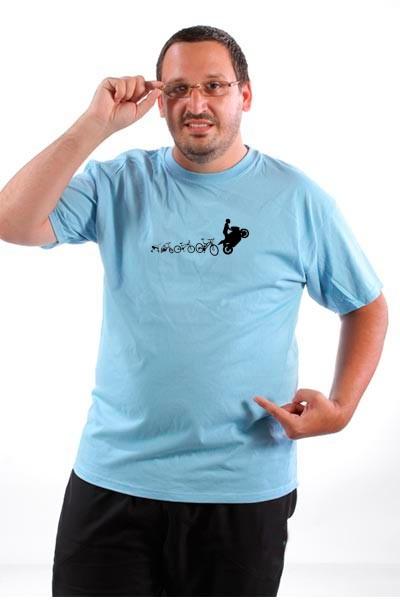 Majica Evolucija dvotočkaša