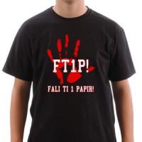 Majica Fali Ti 1 Papir!