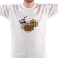 Majica Gangxta fast food