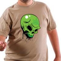 Majica Green Skull 01