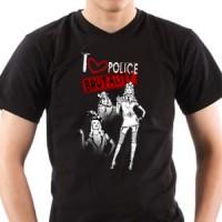 Majica I Love Police Brutality | Policija | Police | Brutality