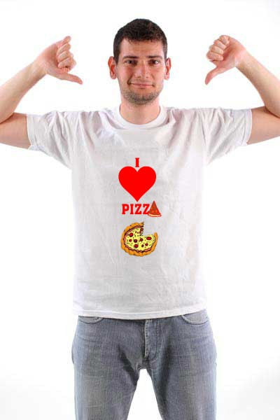 Majica I love pizza (picture no. 2)