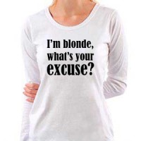 Majica I m Blonde