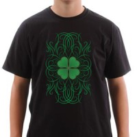 Majica Irish Tribal Clover