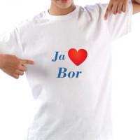 Majica Ja volim Bor