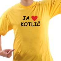 Majica Ja volim kotlić