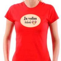 Majica Ja volim licidersko srce