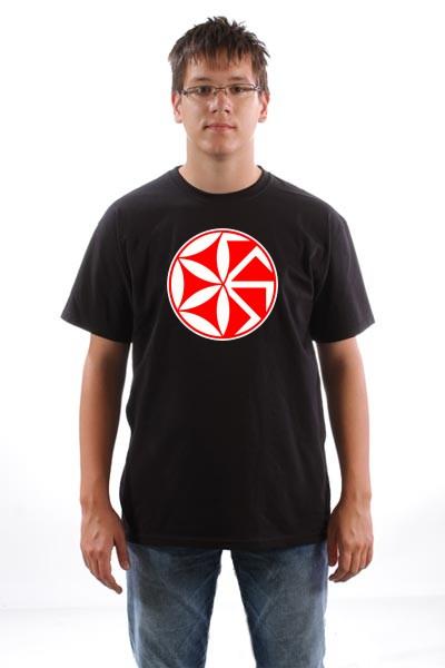 Majica Kolovrat perunika