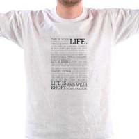 Majica Life manifest