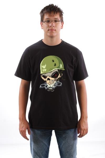 Majica Lobanja vojnik
