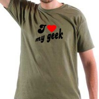Majica Love geek