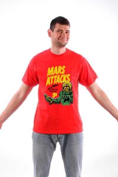 Majica  Mars napada!
