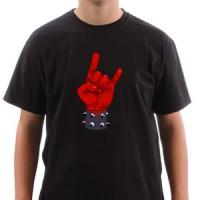Majica Metal rogovi