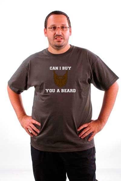 Majica Mogu li ti kupiti bradu