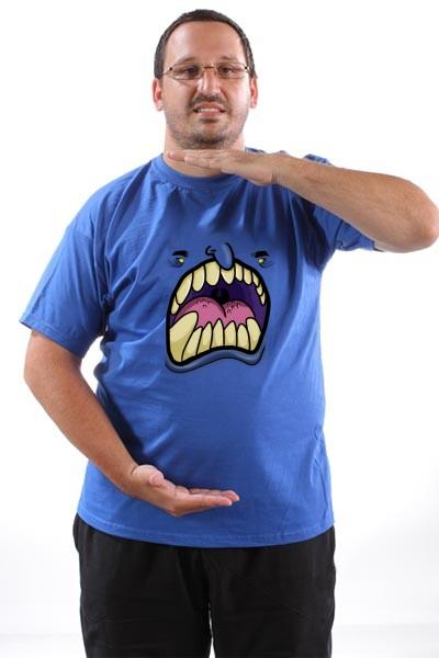 Majica Monstrum sa zutim ocima