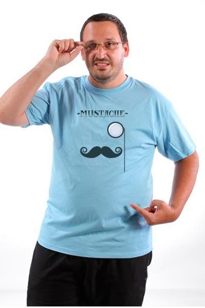 Majica Mustache