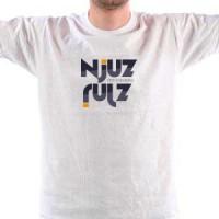 Majica NJUZ - bela