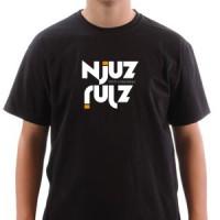 Majica NJUZ - crna
