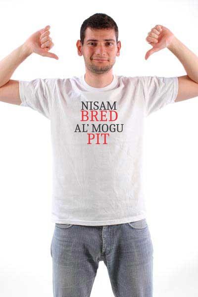Majica Nisam Brad al' mogu pit
