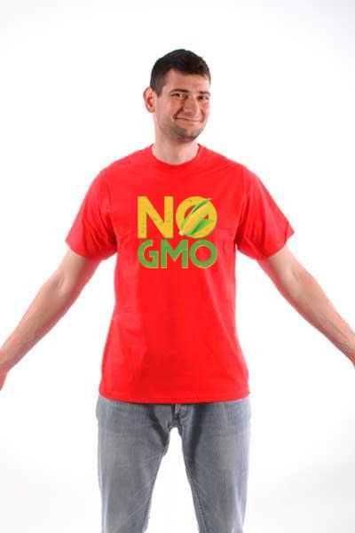 Majica No Gmo!