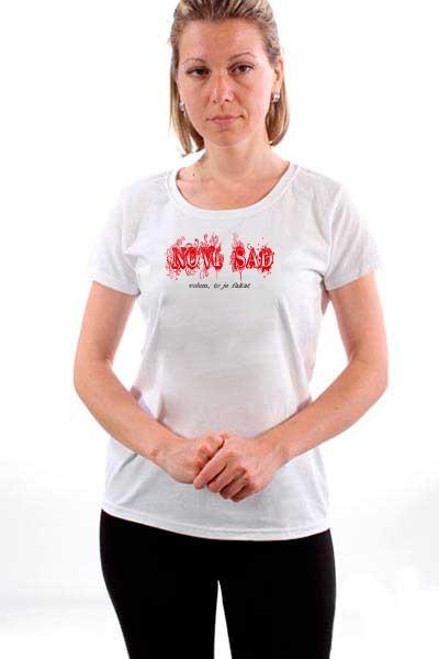 Majica Novi Sad volem - to je fakat
