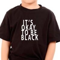 Majica Okej je biti crn