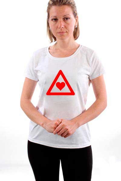 Majica Opasnost - Ljubav!
