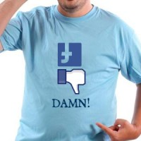 Majica Pad facebook-a.