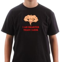 Majica Pametniji sam nego što izgledam!