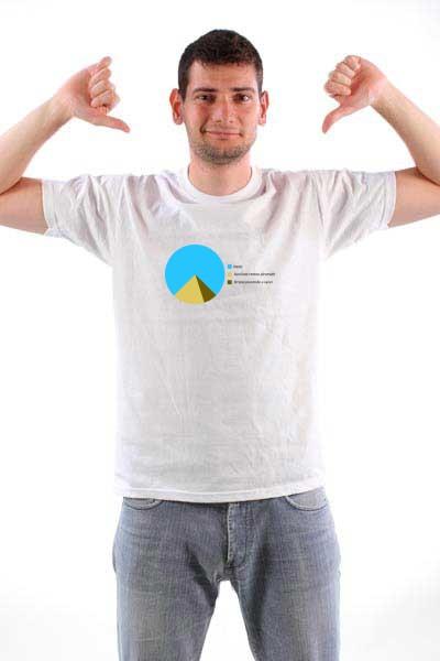 Majica Piramida