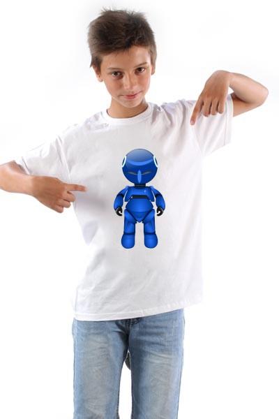 Majica Plavi Robot