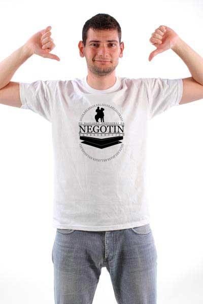 Majica Po naglasku prepoznaj da Negotin reprezentujem